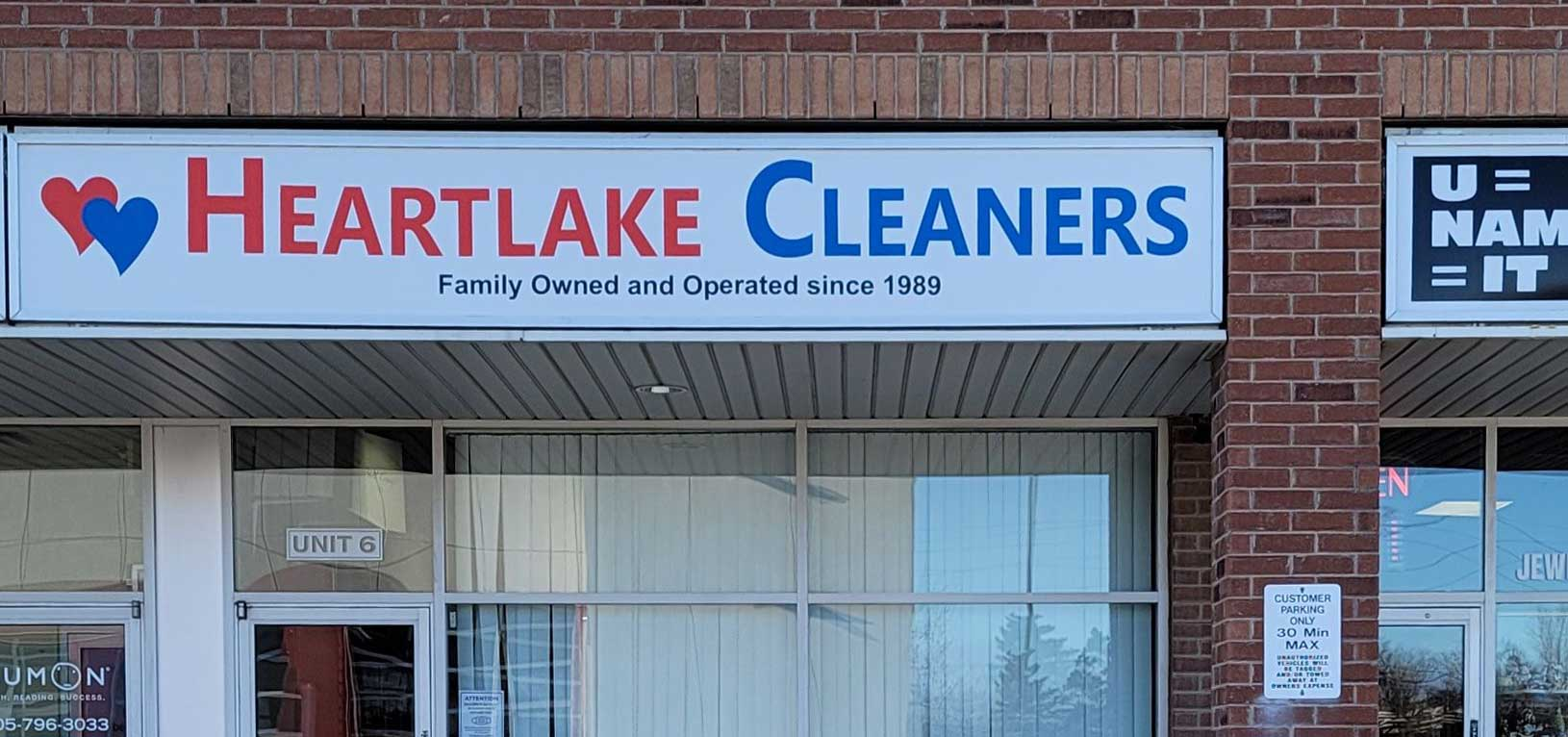 Heart Lake Dry Cleaners, Alterations and Wet Cleaning